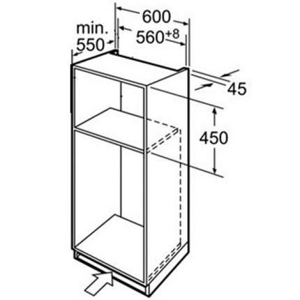 Встраиваемый электрический духовой шкаф Siemens HB86K575 Silver