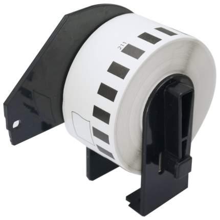 Лента для печати наклеек Brother DK-22211 Black on white 29 мм