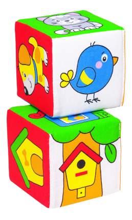Детские кубики Мякиши Чей домик?