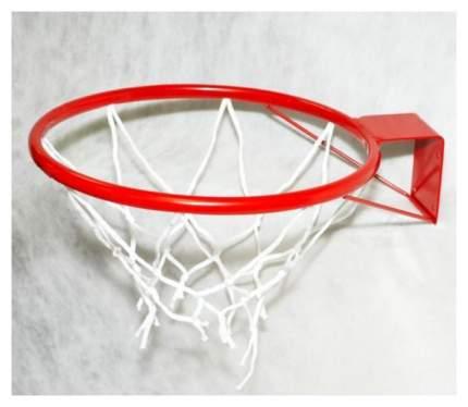 Корзина баскетбольная ЧП Максимов №5, диаметр 380 мм, с упором и сеткой КБ51 КБ-02