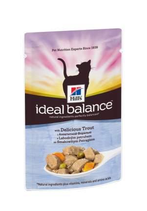 Влажный корм для кошек Hill's Ideal Balance, рыба, 85г