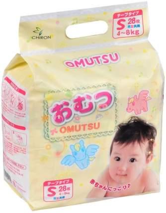 Подгузники Omutsu S (4-8 кг), 28 шт.