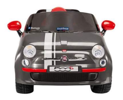 Электромобиль Peg-Perego Fiat 500 s Grey R/C