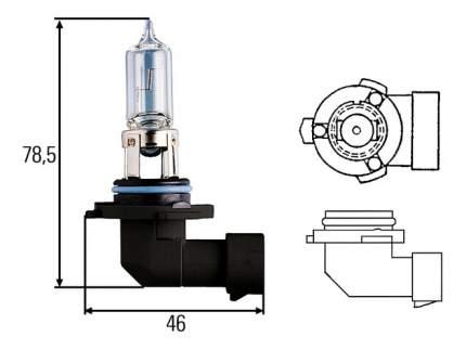 Лампа галогенная Hella 60W P20d 8GH 005 635-121