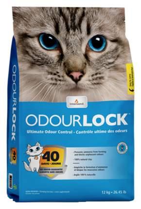 Комкующийся наполнитель для кошек Intersand Odour Lock глиняный, 12 кг, 45 л