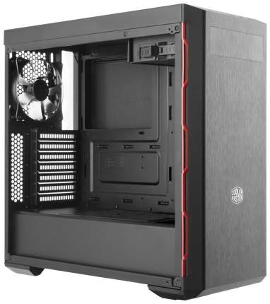 Компьютерный корпус Cooler Master MasterBox MB600L без БП (MCB-B600L-KA5N-S00) grey