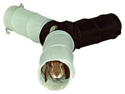 Тоннель для грызунов TRIXIE нейлон, 18х47 см, цвет бежевый, коричневый