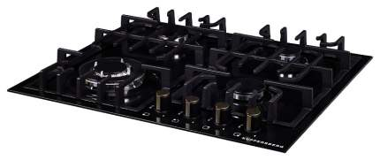 Встраиваемая варочная панель газовая KUPPERSBERG TS 69 B Black