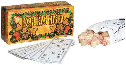 Настольная логическая игра Русское лото Ладья-С