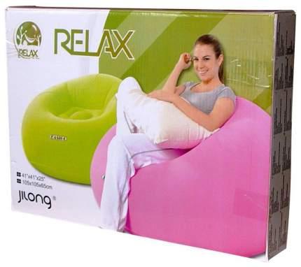 Надувное кресло Relax Easigo Lazy Chair 105х105х65 Салатовый