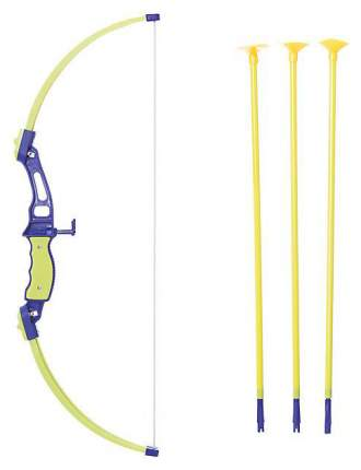 Набор игрушечного оружия 1Toy Набор лучника, Лук и стрелы, мишень, 21 дюйм Т11621