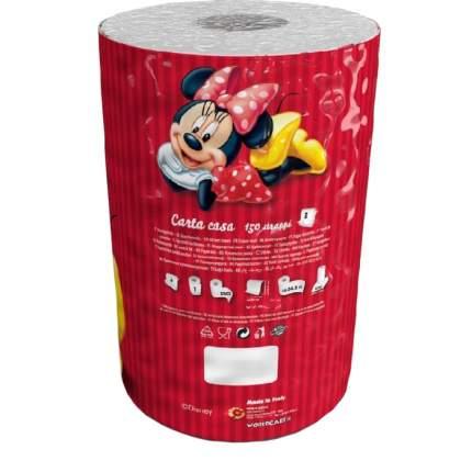 Полотенца бумажные World Cart Минни Маус 3-х слойные с рисунком 1 штука*150 листов