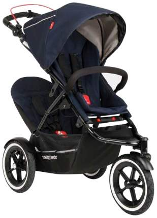 Сидение второго ребенка для коляски Phil and Teds Sport Midnight Blue -темно-синий