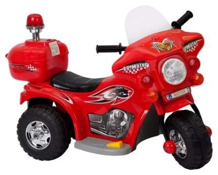 Электромотоцикл Jinjianfeng (на аккум., свет, звук), красный