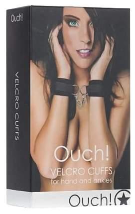 Наручники Shots Media Velcro Cuffs черный