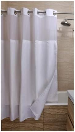 Шторка для ванной FIXSEN HOTEL FX-3319E, белая, полиэстер, 3319Е