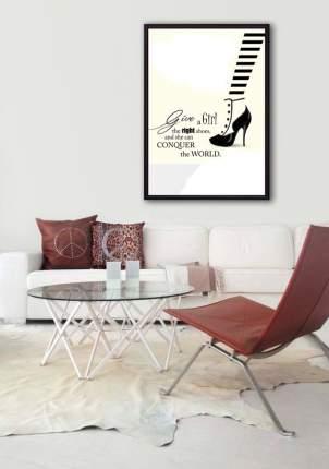 Постер в рамке Модная обувь 21 х 30 см Дом Корлеоне