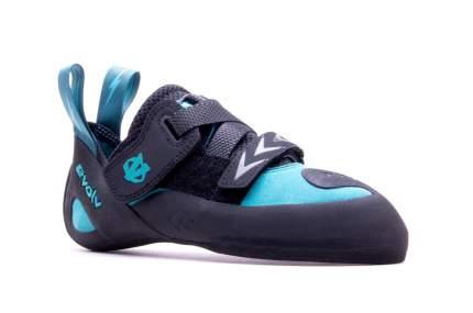 Скальные туфли Evolv Kira, turquoise/black, 6.5 US