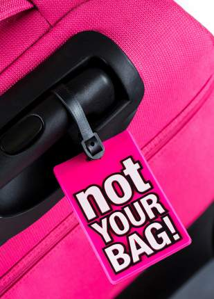 "Багажная ID бирка ""Not your bag!"" Fasttrack 101514"