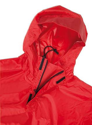 Плащ-дождевик Tatonka Poncho, XL, нейлон 280-015-red