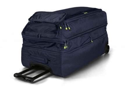 Туристическая сумка на колесиках BMW Active Travel Bag Trolley, Blue / Lime