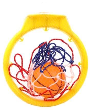 Набор для игры в баскетбол Наша игрушка кольцо 19 см мяч