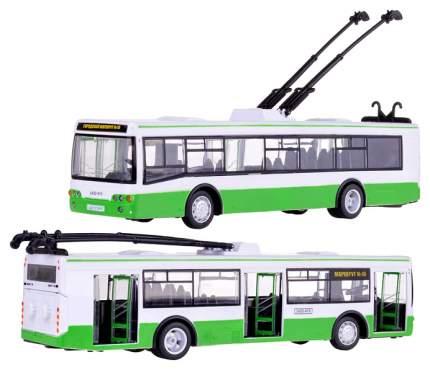 Инерционная Машина Троллейбус Свет Звук 1:43 Play Smart 9690-A