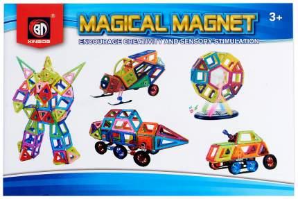 Магнитный конструктор Xinbida Магический магнит, 71 деталь