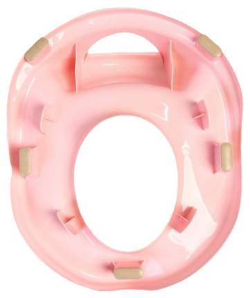 Детская накладка на унитаз Little Angel Guardian розовый пастельный LA1690