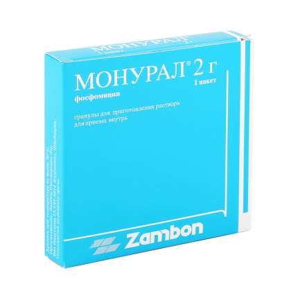 Монурал гранулы пакеты 2 г 1 шт.