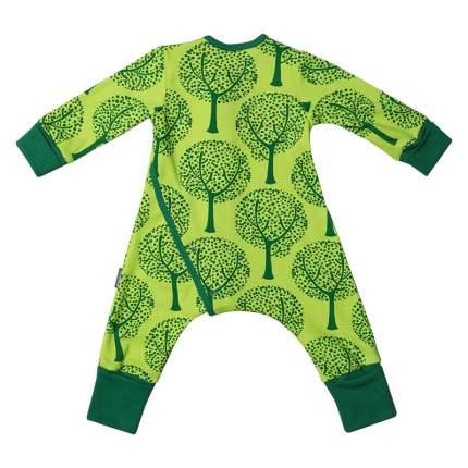 Пижама на кнопках Bambinizon Деревья р.98