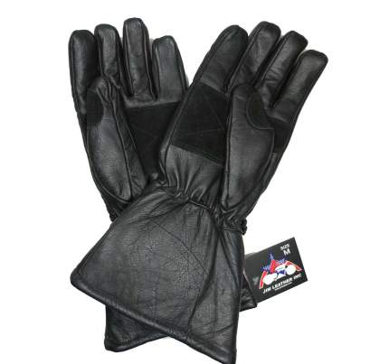 Мото Перчатки JIM leather 7031 M (9) Краги утепленные