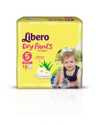 Подгузники-трусики Libero Dry Pants Size 5 (10-14кг), 18 шт.