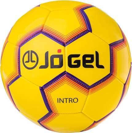 Футбольный мяч Jogel JS-100 Intro №5 yellow