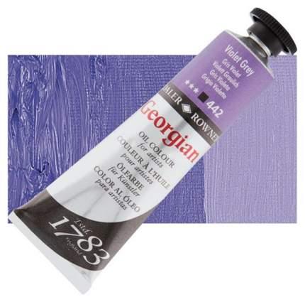Масляная краска Daler Rowney Georgian фиолетово-серый 75 мл