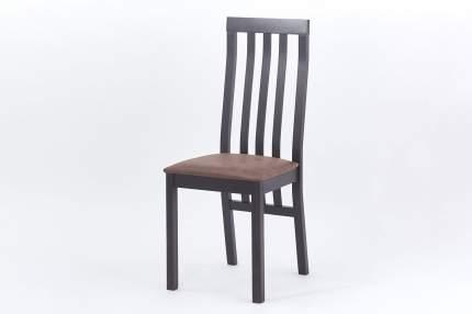 Стул Hoff Престон, венге/темно-коричневый