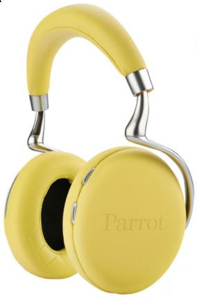 Беспроводные наушники Parrot Zik 2.0 by Philippe Starck Yellow