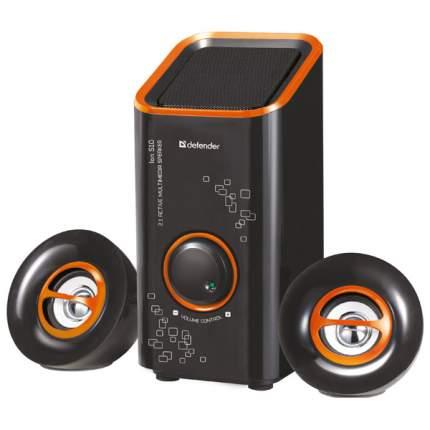 Колонки компьютерные 2.1 Defender ION S10 (65315) Оранжевый/Черный