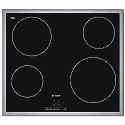 Встраиваемая варочная панель электрическая Bosch PKE645B17 Black
