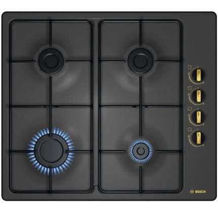 Встраиваемая варочная панель газовая Bosch PBP6B3B80 Black