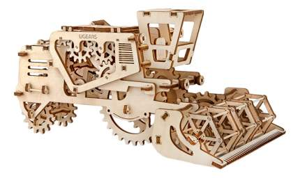 Сборная модель конструктор UGEARS Комбайн