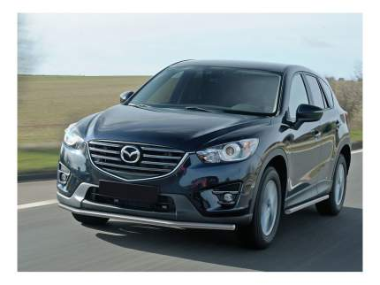 Защита порогов RIVAL для Mazda (R.3803.010)