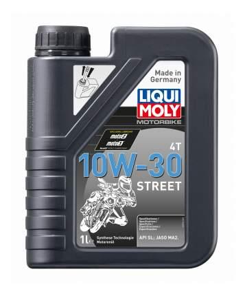 Моторное масло Liqui moly Motorbike 4T Street 10w-30 1л