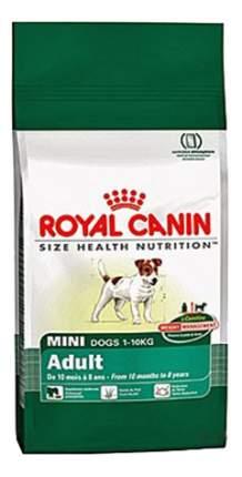 Сухой корм для собак ROYAL CANIN Adult Mini,  рис, птица,, 4кг