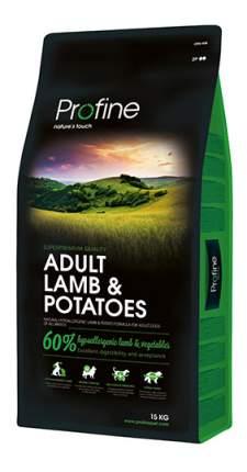 Сухой корм для собак Profine Adult Lamb & Potatoes, ягненок, 15кг