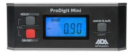 Уровень пузырьковый электронный ADA ProDigit Mini