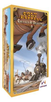 Семейная настольная игра Ludonaute Colt Express Horses And Stagecoach