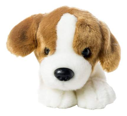 Мягкая игрушка SOYA Щенок породы гончая, 20x9x11 см