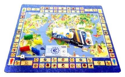 Семейная настольная игра Play Land Кругосветное путешествие