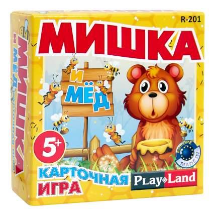 Семейная настольная игра Play Land Мишка и мед R-201